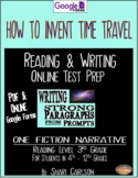 """SBAC Test Prep ~ 1 PDF Text, """"HOW TO INVENT TIME TRAVEL"""""""