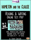 "SBAC Test Prep ~ 1 PDF Text, ""Hamilton & the Clause""--How BURR Cheated NY"