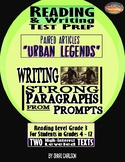 "SBAC Test Prep ~ 2 Texts about ""Urban Legends"""