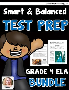 SBAC ELA Test Prep 4th Grade