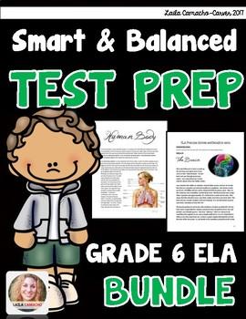 SBAC and PARCC ELA 6th Grade BUNDLE