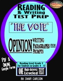 """SBAC Test Prep ~ 1 ONLINE Text, """"THE VOTE""""--1st Woman Mayor ~ FACT & OPINION"""