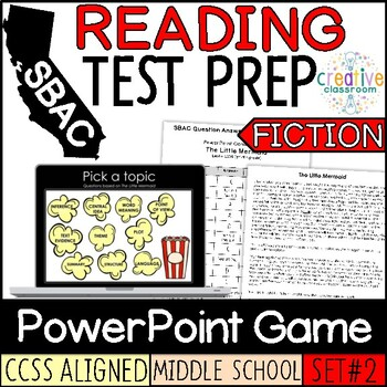 SBAC Fiction PowerPoint Game