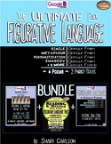 SBAC Figurative Language III BUNDLE -- Ultimate -- Google Forms, texts, lessons