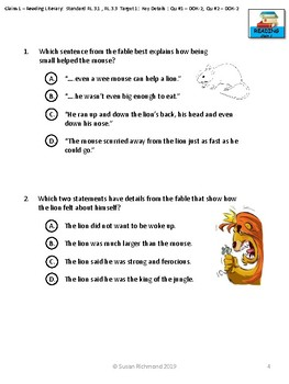 SBAC ELA Grade 3 Complete Assessment with Narrative Performance Task