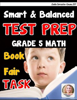 SBAC Math Grade 5 Book Fair Task