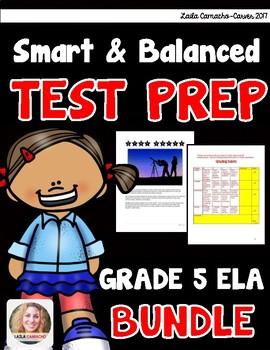 SBAC and PARCC ELA 5th Grade BUNDLE