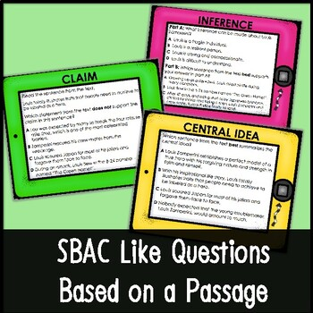 SBAC Informational Text PowerPoint Game