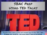 SBAC Listening Prep Using TED Talks