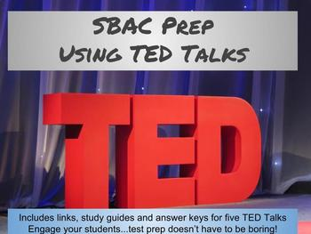 SBAC Listening Prep Using TED Talks
