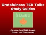 SBAC Listening Prep Using TED Talks-Gratefulness-Perfect f