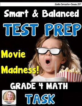 SBAC Math Grade 4 Movie Madness Task