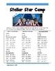 SBAC Math Grade 5 Stellar Star Camp Task