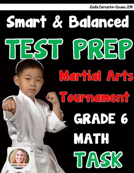 SBAC Math Grade 6 Martial Arts Tournament Task