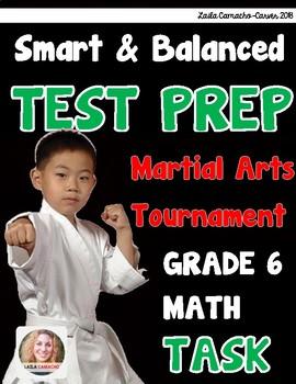 SBAC Math Grade 6 Martial Arts Tournament Task