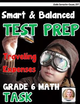 SBAC Math Grade 6 Traveling Expenses Task