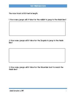 SBAC Math Test Prep 3rd Grade