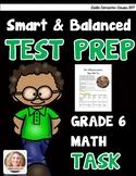 SBAC Math Test Prep 6th Grade