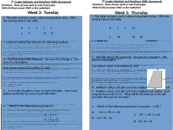 SBAC Modeled Weekly Questions Wk 3
