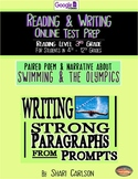 SBAC Test Prep ~ 2 ONLINE Texts ~ About Swimming ~ Fig. Language  ~ Google Forms