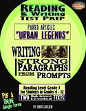 """Articles: 2 PDF & ONLINE Texts about """"Urban Legends"""" - DISTANCE LEARNING"""