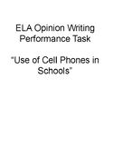 SBAC Opinion Writing Performance Task Using 2 Sources: Cel