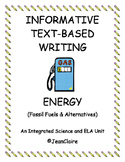SBAC PREP  ENERGY: TEXT-BASED INFORMATIVE WRITING INTERMEDIATE