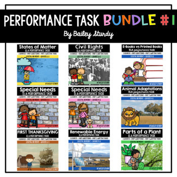 SBAC ELA Performance Task BUNDLE
