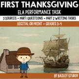 SBAC ELA Performance Task - Pilgrims