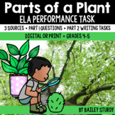 Distance Learning SBAC ELA Performance Task - Plant Parts