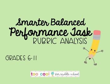 SBAC Performance Task Rubric Study Guide