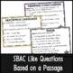 SBAC Poetry PowerPoint Game Set 4 Grades 3-5