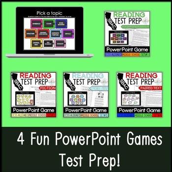 SBAC PowerPoint Game Bundle