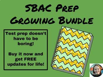 SBAC Prep GROWING Bundle