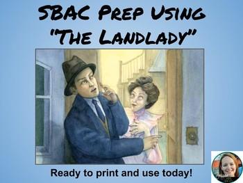 "SBAC Prep Using ""The Landlady"" by Roald Dahl"