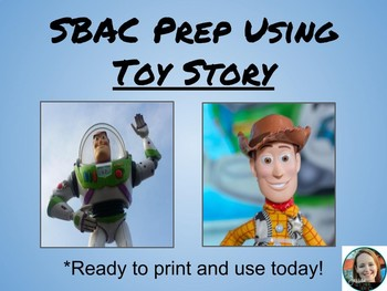 SBAC Prep Using Toy Story