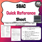 SBAC Quick Reference Sheet