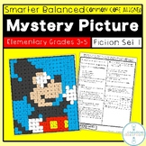 SBAC Reading Mystery Picture Fiction Set 1 Grades 3-5