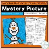 SBAC Reading Mystery Picture Informational Text Set 3 Grades 3-5