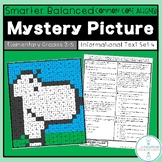 SBAC Reading Mystery Picture Informational Text Set 4 Grades 3-5