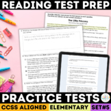 SBAC Reading Practice Tests Set 4 Grades 3-5