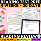 SBAC Reading Review Grades 3-5