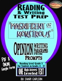 "SBAC Test Prep ~ FACT & OPINION ~ 1 Text, ""MAGNIFICENT or MONSTROUS?"""