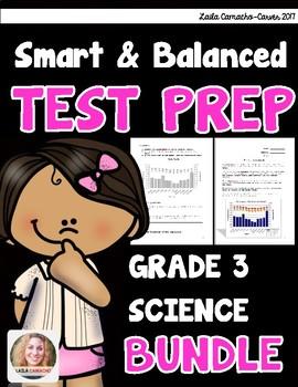 SBAC and PARCC Science 3rd Grade BUNDLE