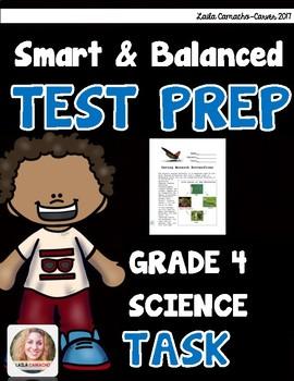 SBAC Science Test Prep 4th Grade