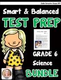 SBAC and PARCC Science 6th Grade BUNDLE