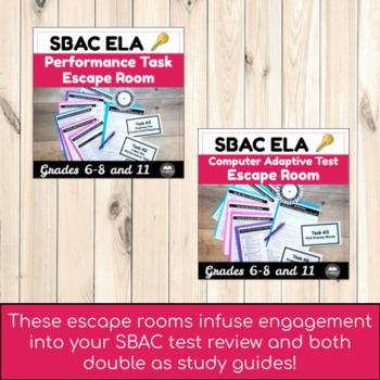 SBAC Secondary ELA Bundle