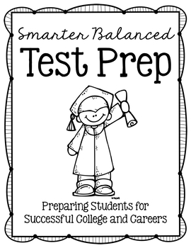 SBAC Smarter Balanced Assessment Test Prep Folder Materials and Tools