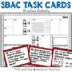 SBAC Smarter Balanced / PARCC Math Practice Task Cards: Grade 3