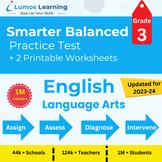 Online SBAC Practice, Digital Workbooks Grade 3 ELA- Dista
